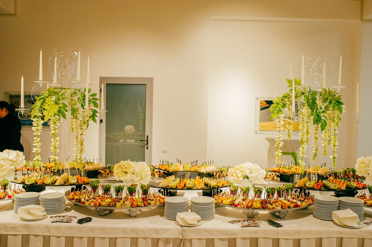banchete, catering